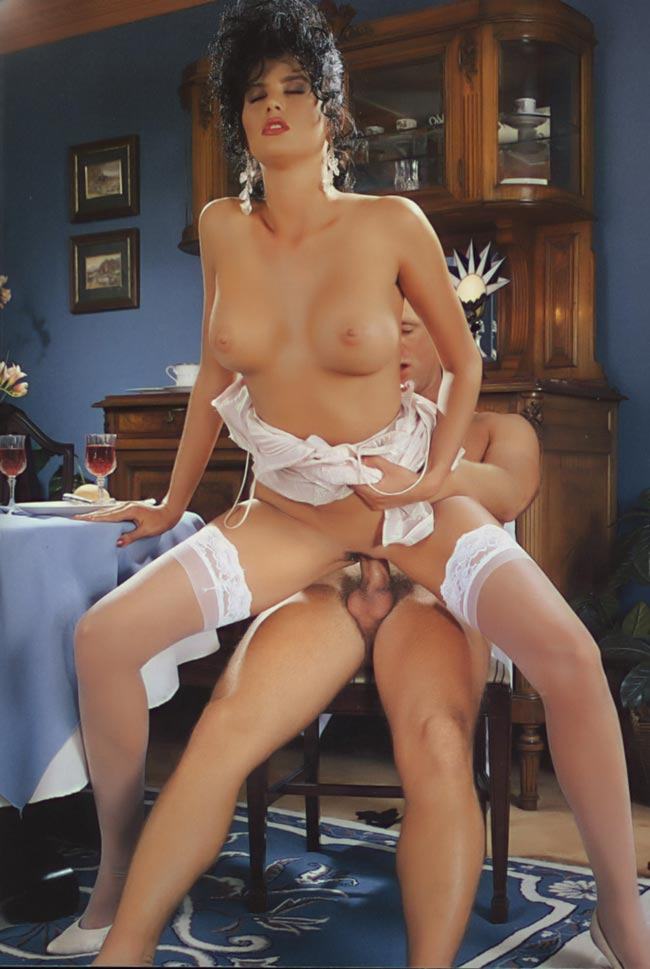 Alicia parker plays with her rubber dickie 1